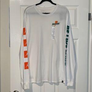 Jordan Gatorade Be Like Mike Long Sleeve Shirt NWT